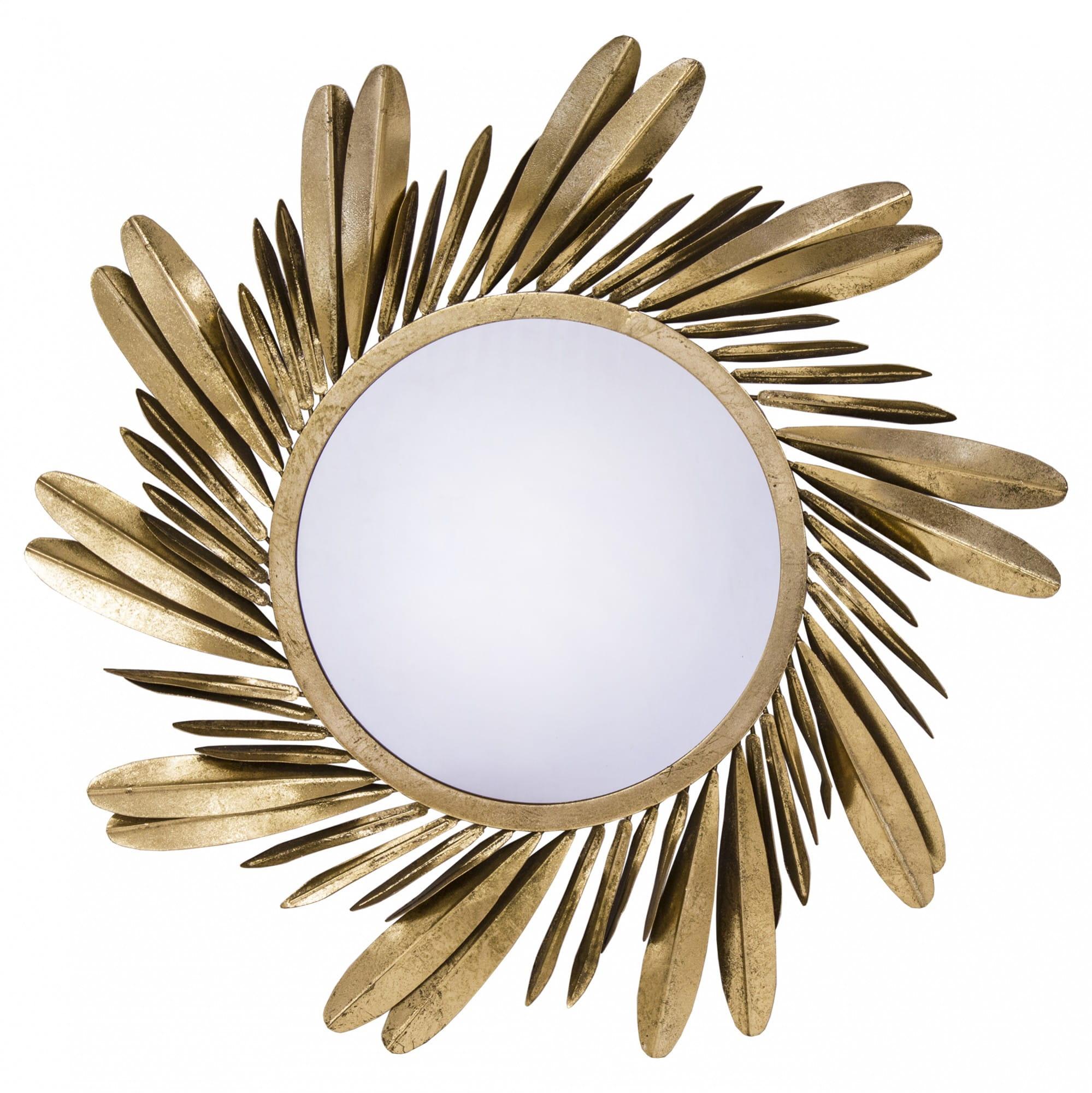 Chwalebne Złote lustro 118716 - Dom Dekoracji YR22